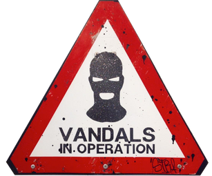 Vandal In Operation